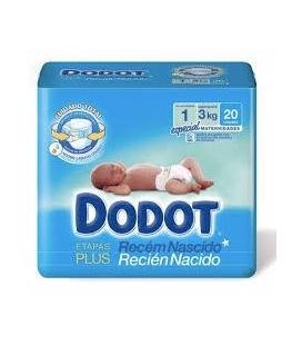 PAÑALES INFANTILES DODOT
