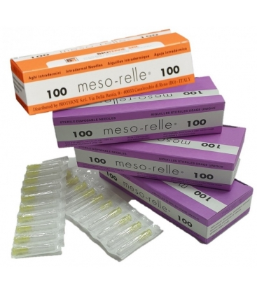AGUJA MESOTERAPIA MESORELLE (100 UDS)