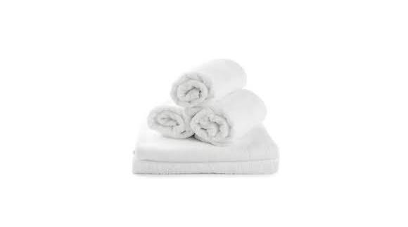 Toallas blancas de rizo, desde tan sólo 0,90€