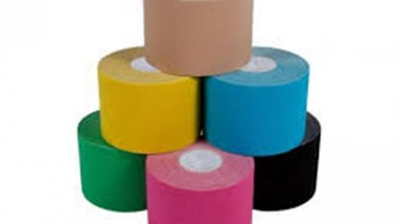 Vendas elásticas Darco Tape, para Kinesología. Dan soporte y estabilidad.