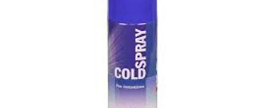 Spray de frío especial para contusiones, esguinces...